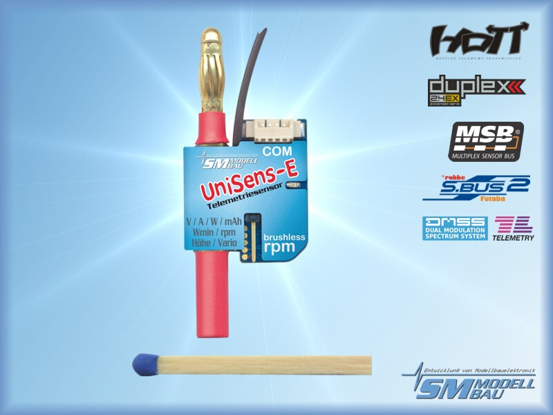 UniSens-E # 4 mm Goldstecker